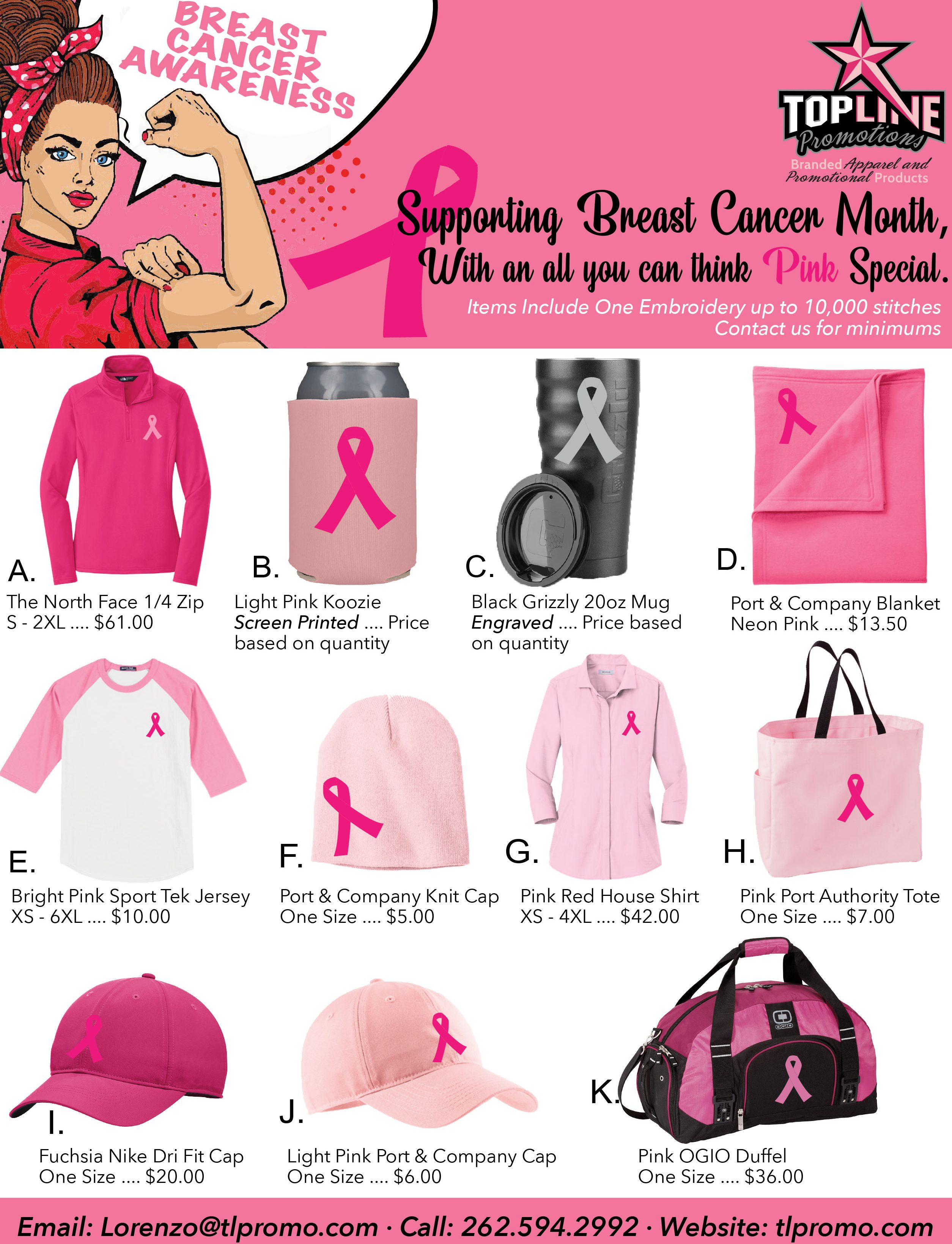 Breast Cancer Awareness, October Special.